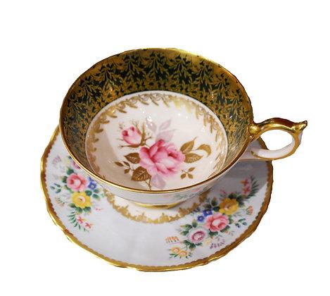 Vintage Teacup & Saucer by Aynsley