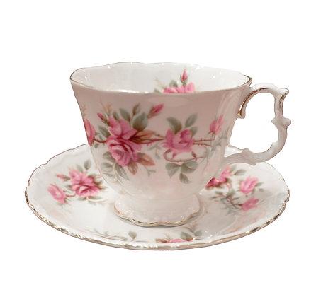 'Romance' Royal Albert Teacup and Saucer