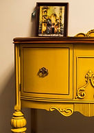 Yellow Sideboard
