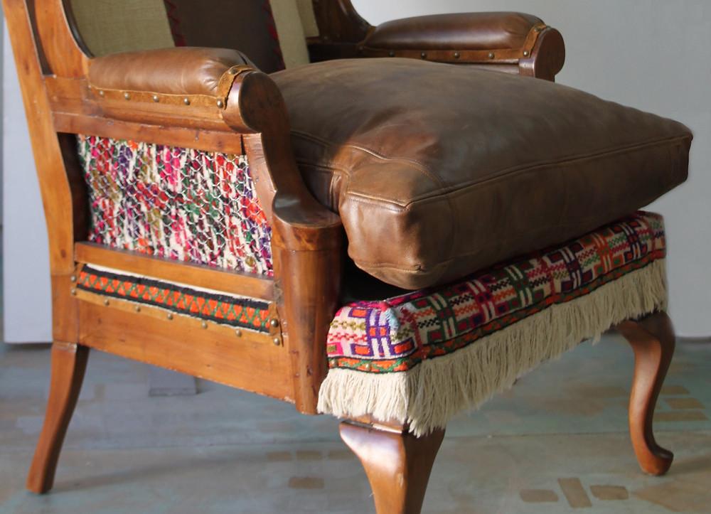Vintage Leather Armchair