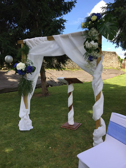 Arche décorée