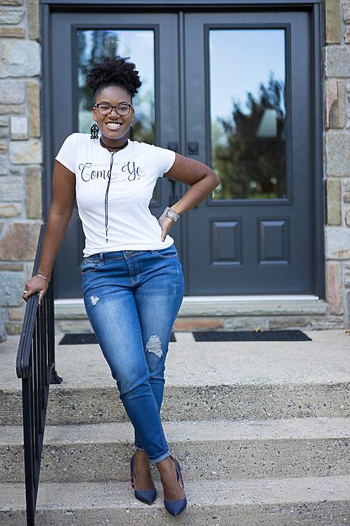 Come Ye T-Shirt by Maya Elizabeth
