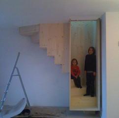 Escalier suspendus