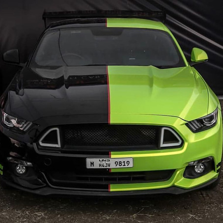 Diana The Two-Faced Mustang GT