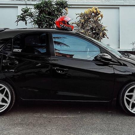 The Black Pocket Rocket Honda Brio