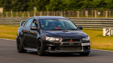 Modified Mitsubishi Lancer Evolution X AKA Torpedo