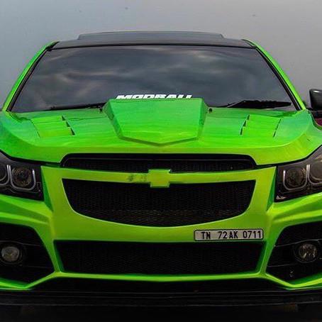The Green grenade Chevrolet Cruze LTZ