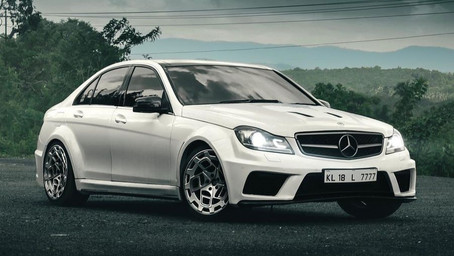 Read about the Modified Mercedes Benz c220 With C63 AMG Series Body Kit
