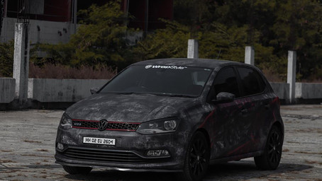 Featuring The Modified Volkswagen Polo GT TSI With Vampire Attire