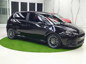 The Black Mamba India's Best Modified Fiat Abarth Punto