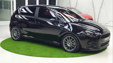 The Black Mamba India's Best Modified Fiat Abarth Punto