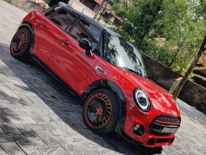 Modified MINI COOPER with Jcw Oxford edition body kit