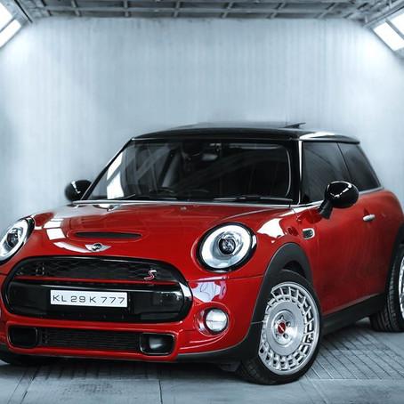 The Red Granade Mini Cooper S