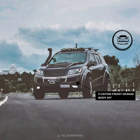 Mr Hawk Modified Mahindra XUV 500