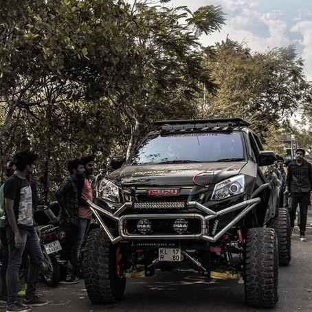 Read about the country's only Isuzu V-Cross with 12-inch lift kit
