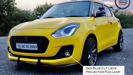 The Goldilocks a Fiercest Modified Swift With Cobra Lowering Springs