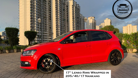 Red Blood Mafia The Best Modified Volkswagen Polo TDI From Kerala