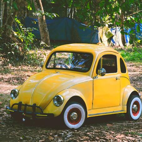 Custom Beetle with Suzuki Samurai engine