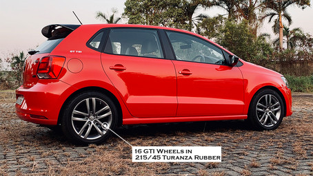 The Red Hot German Modified Polo GT TSI