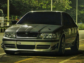 15 Years Old Modified Skoda Octavia VRS With 270hp!