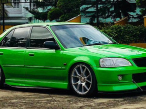 20-Years-Old Modified Honda City