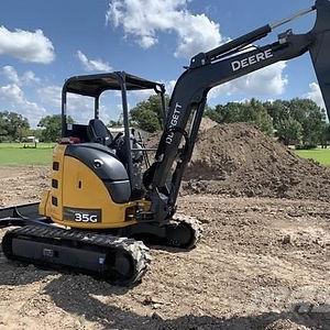 John Deere 35G Mini Excavator