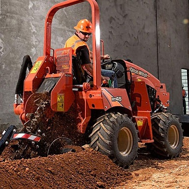 Ditchwitch RT45 Ride On Trencher