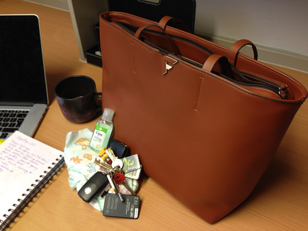 Inside a working mum's handbag – what's essential and what's not?