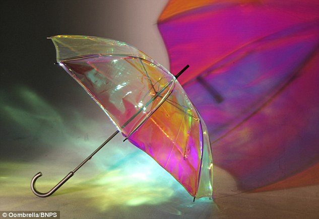 Smart umbrella makes top 5 connected objects