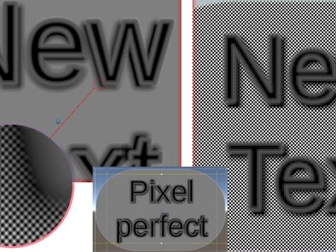 Pixel Perfect Shader