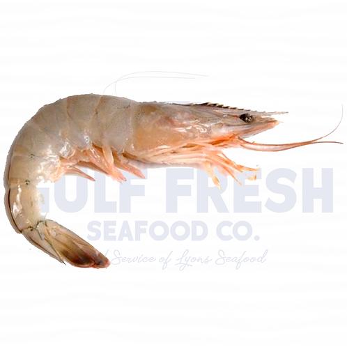 Fresh Gulf Shrimp - Small 5lb