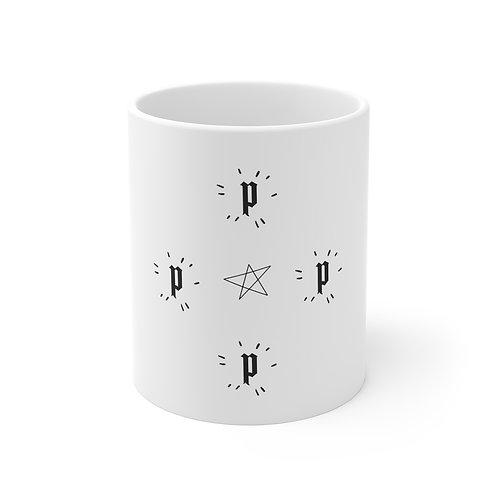 11oz PEPPER XROSS White Mug