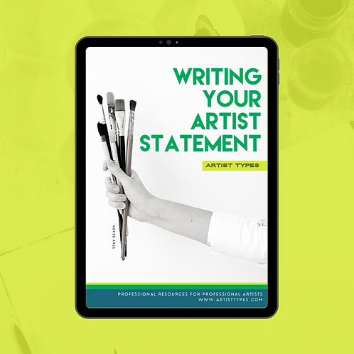 Artist Statement Writing Guide