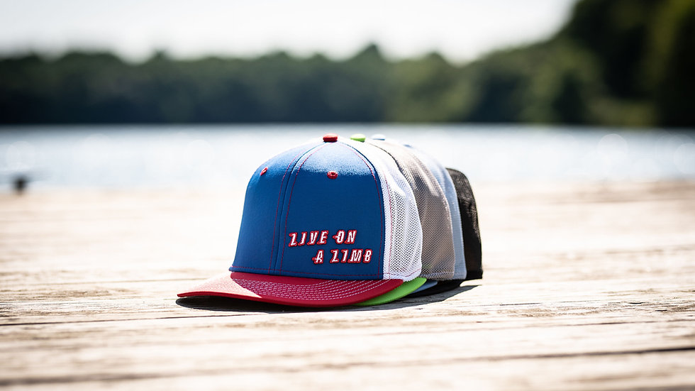 Live on a Limb Ultra-Fit Snap Back Hat