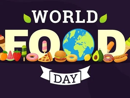 16 October 2021 World Food Day