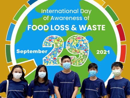 Today is International Food Waste Awareness Day.