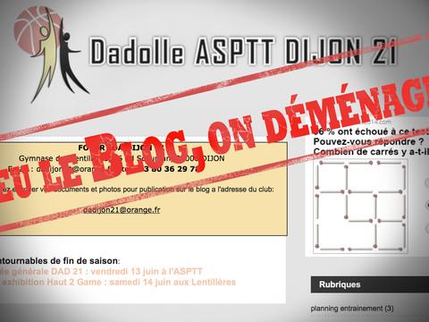 Un nouveau site internet pour DA Dijon 21