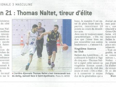 Tom Naltet : le sniper