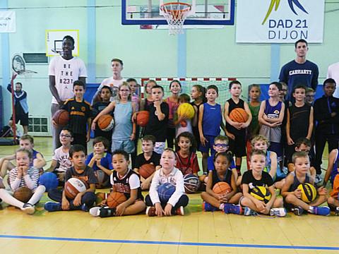 Ecole de  basket : les ateliers du lundi  soir