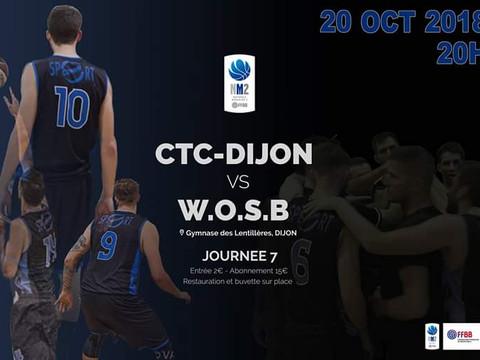 CTC DIJON  vs  WOSB