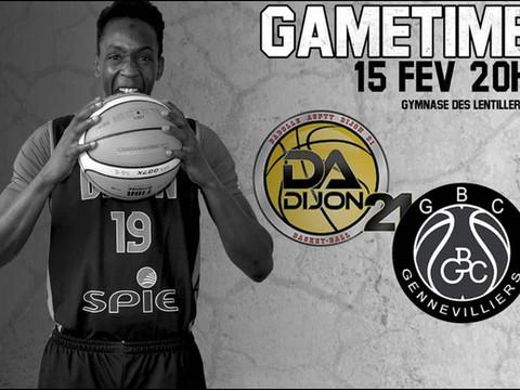 N2 : CTC Dijon vs Genevilliers