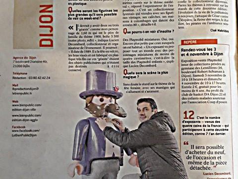 L'expo Playmobil à Dijon :  insolite, ludique, magique