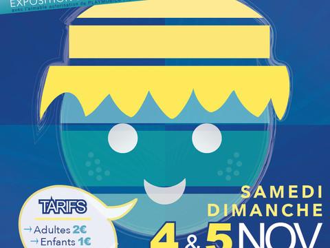 Les  playmobil aux  Lentillères  les  4 et 5 novembre