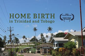Home Birth in TT Poster with TTFF Laurel