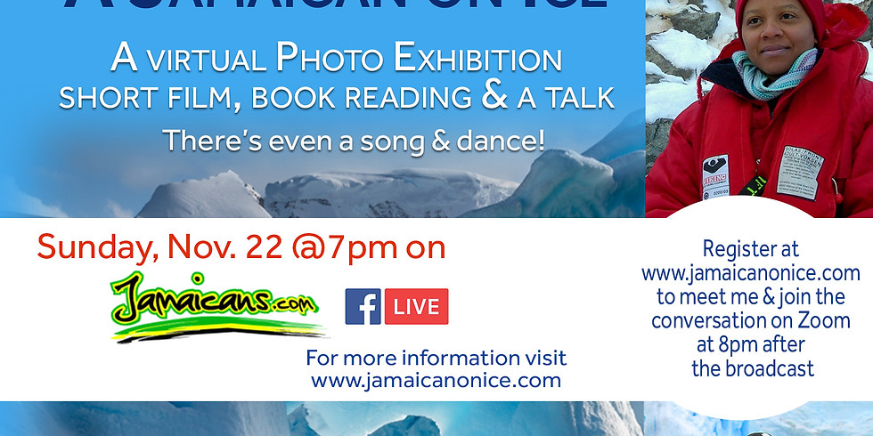 A Jamaican on Ice Global Launch