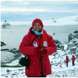 Judith at Hope Bay, Antarctica