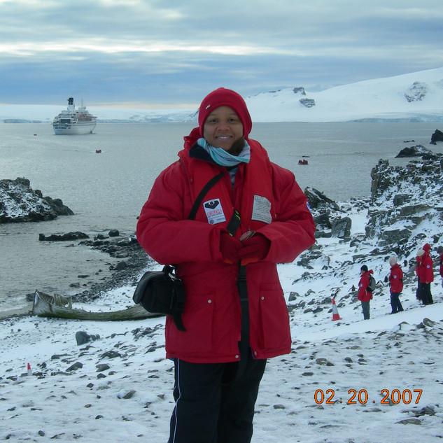 Judi at Half Moon Bay