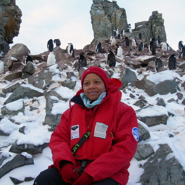 Judith with Chinstrap Penguins.jpg