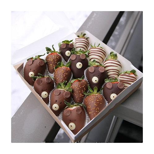 Набор клубники в шоколаде 16шт.