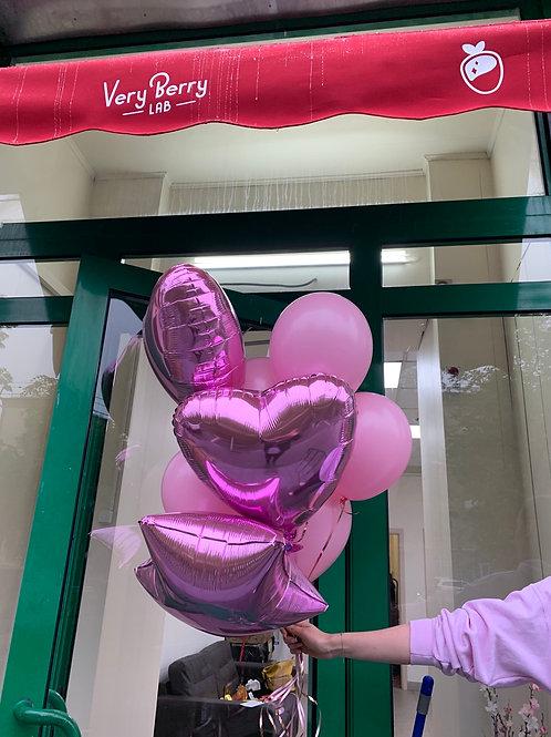 Розовый сет